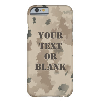 Desert Camouflage Barely There iPhone 6 Case