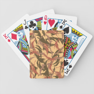 Desert Camouflage Bicycle Card Deck
