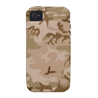 Desert camouflage design Case-Mate iPhone 4 covers