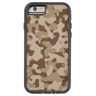 Desert Camouflage Design Tough Xtreme iPhone 6 Case