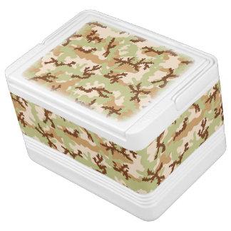 Desert camouflage igloo cool box