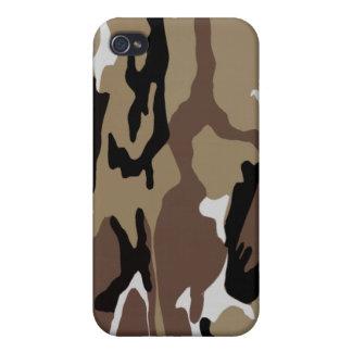 Desert Camouflage iPhone 4 Case