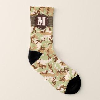 Desert Camouflage Socks