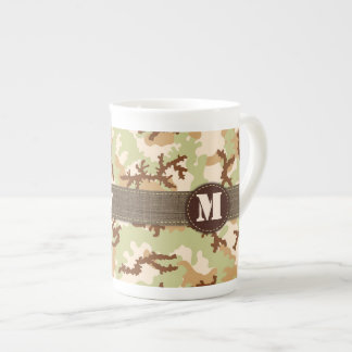 Desert camouflage tea cup