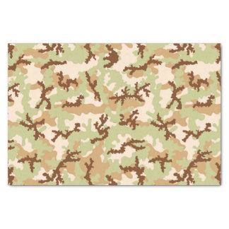 Desert camouflage tissue paper