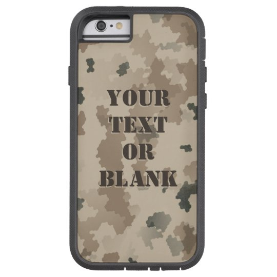 Desert Camouflage Tough Xtreme iPhone 6 Case