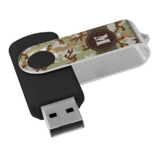 Desert camouflage USB flash drive