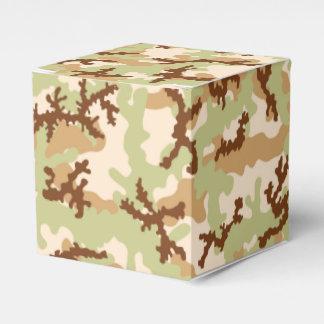 Desert camouflage wedding favour box