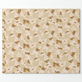 Desert Camouflage Wrapping Paper