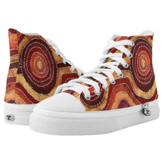 Desert Camp Printed Shoes