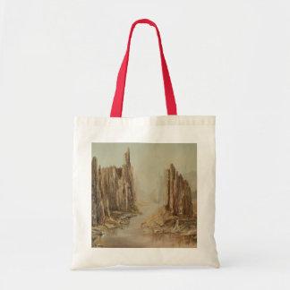 Desert Canyon Canvas Tote Bag
