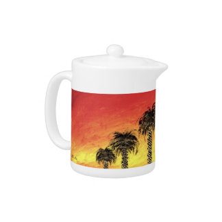 """Desert Celebration"" Teapot by All Joy Art"