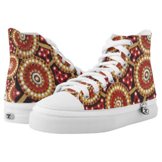 Desert Corroboree Gym Boots Printed Shoes