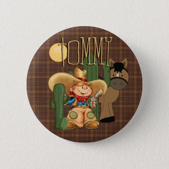Desert Cowboy 6 Cm Round Badge