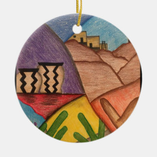 Desert Dance Christmas Ornament