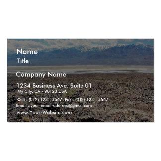 Desert Death Valley Salt Pack Of Standard Business Cards