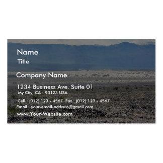 Desert Death Valley Sand Dunes Pack Of Standard Business Cards