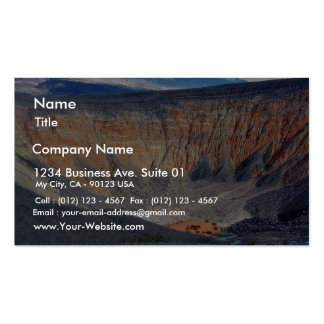 Desert Death Valley Ubehebe Crater Pack Of Standard Business Cards