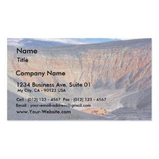 Desert Death Valley Ubehebe Crater Pack Of Standard Business Cards