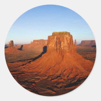 Desert- Deserto Round Sticker