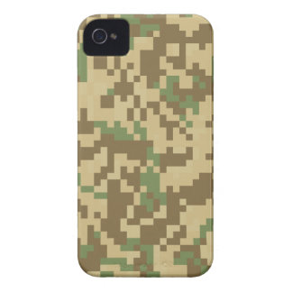 Desert Digital Camouflage iPhone 4 Cover