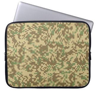 Desert Digital Camouflage Laptop Sleeve
