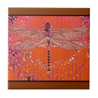 Desert Dragonfly gifts by Sharles Tile
