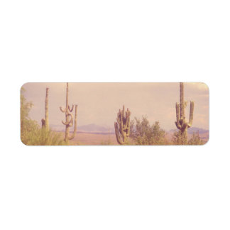 Desert Dream return address labels