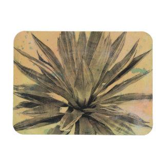Desert Dreams | Green Plant Rectangular Photo Magnet