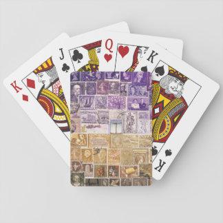 Desert Dusk Playing Cards, Hippie Boho Travel Art Poker Cards