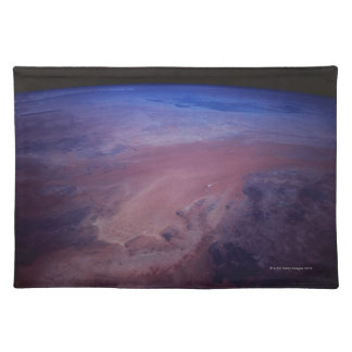 Desert Dust Storm from Space Placemat