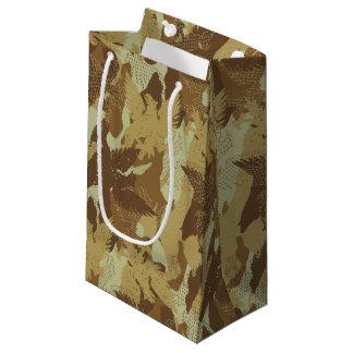 Desert eagle camouflage small gift bag