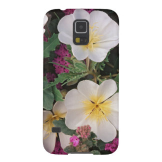 Desert Evening Primrose and Desert Sand Verbena, Galaxy S5 Cases