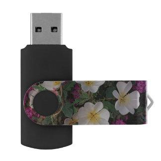 Desert Evening Primrose and Desert Sand Verbena, USB Flash Drive
