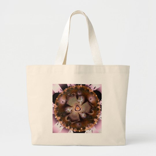 Desert Flower Large Tote Bag
