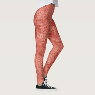 Desert Flower Oil Painting Leggings