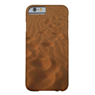 desert footprints phone cover