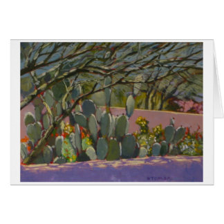 Desert Garden Cacti Card