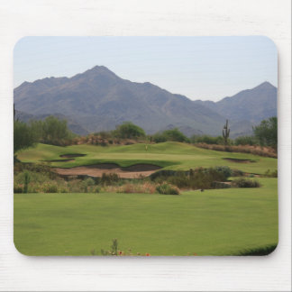 Desert Golf Mouse Pad