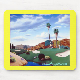 Desert Golf Mousepad