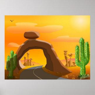 Desert Heat Poster