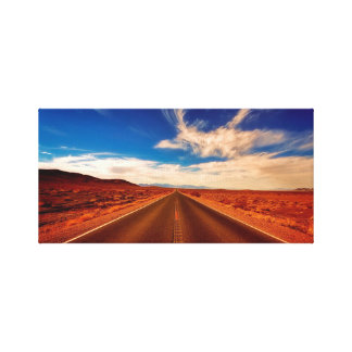 Desert highway print