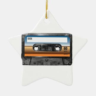 Desert Horizon Label Cassette Christmas Ornaments