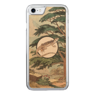 Desert Iguana In Natural Habitat Illustration Carved iPhone 8/7 Case