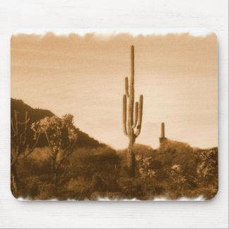 desert in sepia mousepad