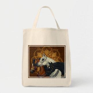 Desert Kings Arabian horses tote bag