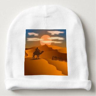 Desert landscape baby beanie