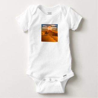 Desert landscape baby onesie