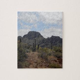 Desert Landscape Jigsaw Puzzle