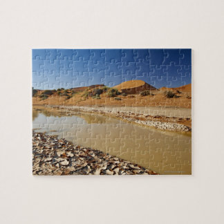 desert Landscape of Namib at Sossusvlei filled Jigsaw Puzzle